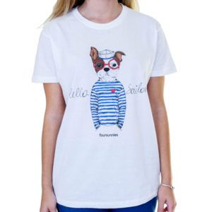 Camiseta Doggy sailor